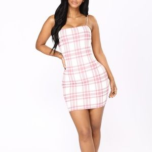 Fashion Nova Plaid Dress